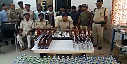 नशे में चूर 10 जुआरी गिरफ्तार, भारी मात्रा में शराब बरामद