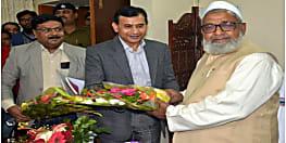 झारखंड के मंत्री हाजी हुसैन अंसारी ने संभाला पदभार, बोले- राज्य में मदरसा बोर्ड का होगा गठन