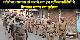 मुंडन कराकर गश्त पर निकले 75 पुलिसकर्मी, जानिए क्या है कारण....