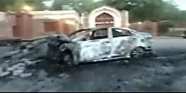 नशे में चूर शख्स ने कुतुबमीनार के दीवार में घुसा दी कार, आरोपी करेगा नुकसान की भरपाई