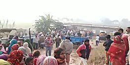 औरंगाबाद में अपराधियों ने शख्स की गोली मारकर की हत्या, सड़क पर उतरे गुस्साए लोग