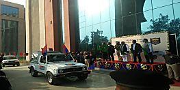 एक साथ बिहार पुलिस को मिली 1000 नई गाड़ी, सीएम ने दिखाई हरी झंडी