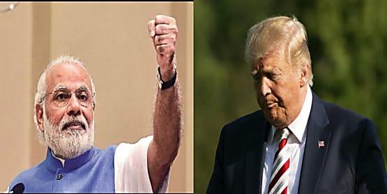 मोदी ने मारा ट्रंप और इमरान के मुंह पर करारा तमाचा, जम्मू-कश्मीर पर फैसले से सकते में ट्रम्प