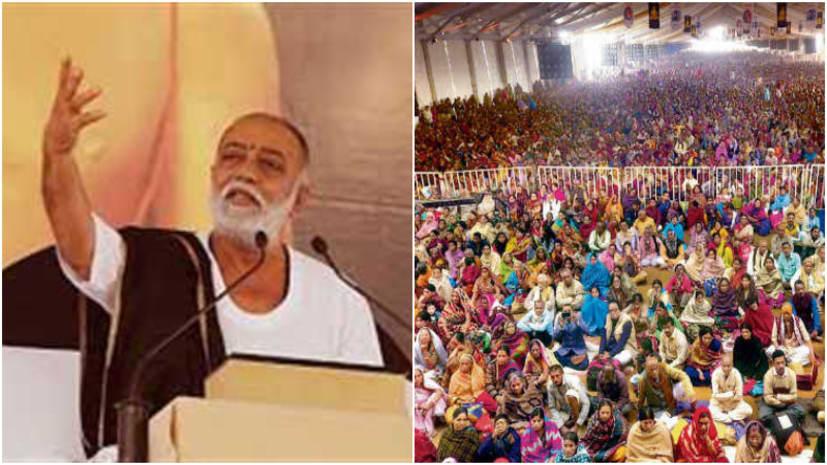 सिमरिया में उमड़ा आस्था का जनसैलाब, छठे दिन दो लाख से अधिक श्रद्धालुओं ने सुनीं राम कथा