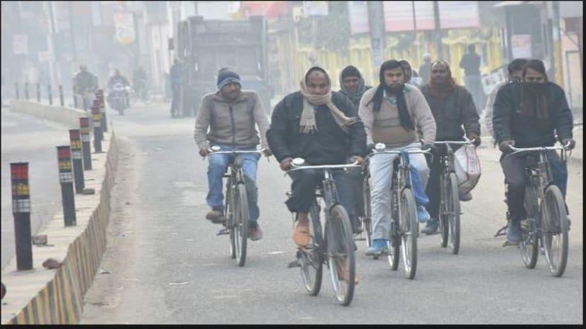 पटना में फिर से बढ़ी ठंड, आज से आसमान में छाए रहेंगे बादल