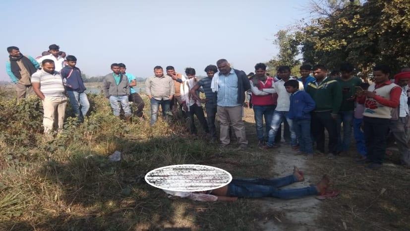 युवक की हत्या कर शव को नहर किनारे फेंका, जांच में जुटी पुलिस