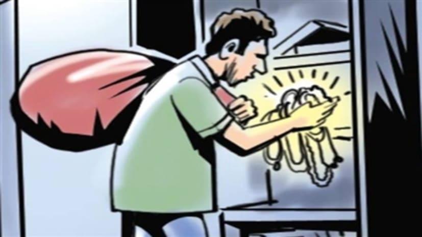 पटना में चोरों का उत्पात, 3 घरों से साफ किये लाखों के सामान