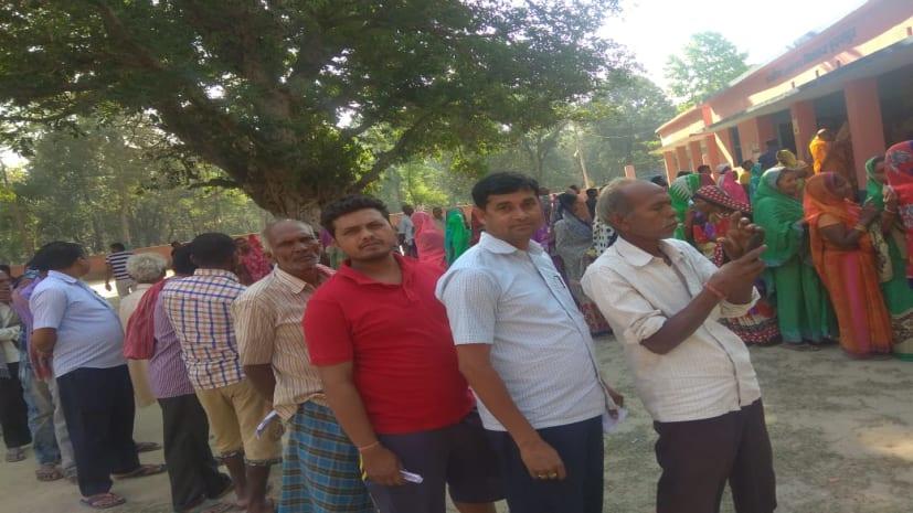 पांचवें चरण में बिहार की 5 सीटों पर वोटिंग जारी, जानें अब तक कहां हुए कितने फीसदी मतदान