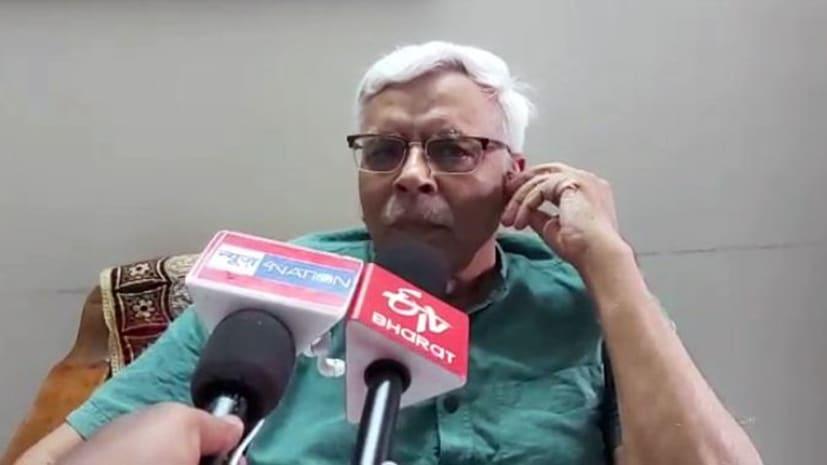 BJP प्रदेश महामंत्री ने नल-जल योजना पर उठाए सवाल,  शिवानंद तिवारी बोले- खटपट की हो गई शुरुआत