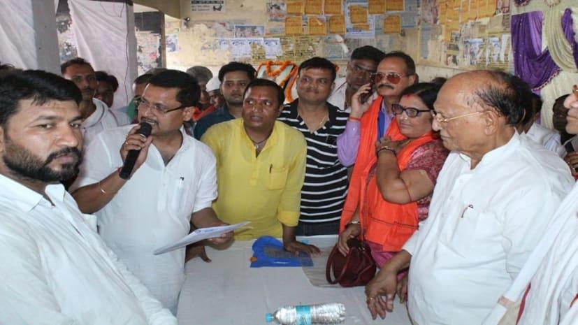 भाजपा के सदस्यता अभियान को लेकर नवादा पहुंचे सीपी ठाकुर, कार्यकर्ताओं का किया उत्साहवर्द्धन