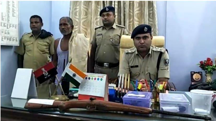 जहानाबाद में पुलिस को मिली सफलता, हथियार के साथ एक को किया गिरफ्तार