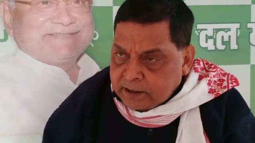 जेडीयू नेता नीरज कुमार का तेजस्वी पर हमला, बोले- कानून उल्लंघन तो फितरत हो गई है, जेल प्रवास तो जैसे वंशानुगत गुण हो