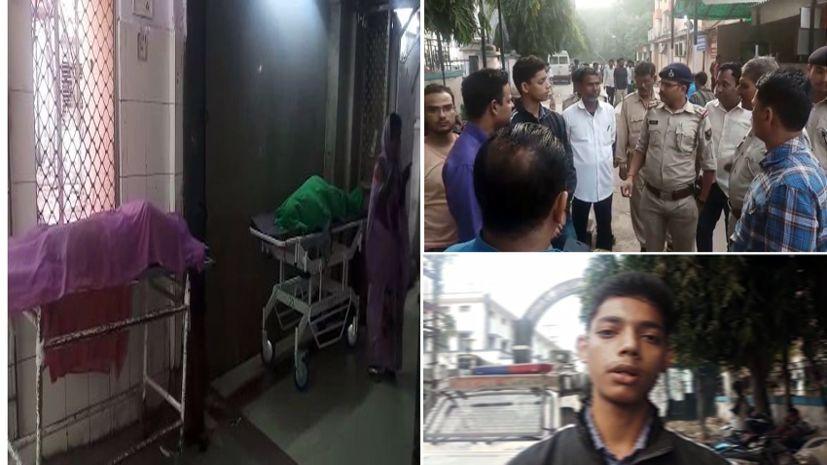 पटना में डबल मर्डर, पैसा नहीं देने पर पत्नी और बेटे को उतारा मौत के घाट