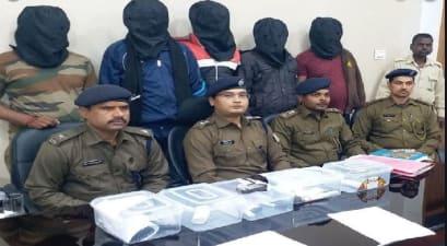 यूपी के इनामी अपराधी को उसके 5 साथियों के साथ रांची पुलिस ने किया गिरफ्तार, बड़ी घटना को अंजाम देने पहुंचे थे राजधानी