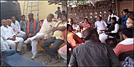 राजद एमएलसी संजय गिना रहे मोदी सरकार की उपलब्धियां,  मुंगेर में ललन सिंह के लिए कर रहे जनसंपर्क