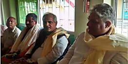 नाराज मृत्युंजय झा को मनाने में जुटी भाजपा, बिहार प्रभारी भूपेंद्र यादव और नागेन्द्रजी पहुंचे मधुबनी