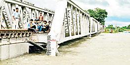 दरभंगा-सीतामढ़ी रेल खंड पर रेल ट्रैक के निकट पहुंचा बाढ़ का पानी, रोका गया रेल परिचालन