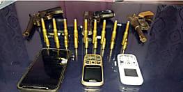 पटना में हत्या की योजना बनाते तीन अपराधी गिरफ्तार, विदेशी पिस्टल समेत कई हथियार बरामद