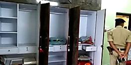 गृहस्वामियों को बंधक बनाकर डकैतों ने की लूटपाट, वारदात सीसीटीवी कैमरे में कैद
