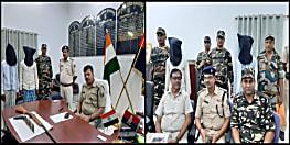 मुजफ्फरपुर में 2 हार्डकोर नक्सली गिरफ्तार, राइफल और पिस्टल के साथ कई कारतूस बरामद, एसएसबी और पुलिस की संयुक्त कार्रवाई