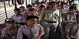 पटना में स्कूली बसों की हुई जांच, नियमों का उल्लंघन करने पर लगा जुर्माना और भेजी गई नोटिस
