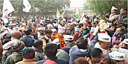 दिल्ली विधान सभा चुनाव : पद यात्रा करते हुए नामांकन पर्चा भरने पहुंचे डिप्टी सीएम मनीष सिसोदिया