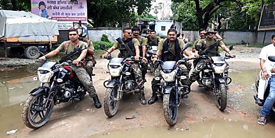 नवादा में तेज बाइक चलाने को लेकर दो पक्षों के बीच जमकर हुई रोड़ेबाजी, जांच में जुटी पुलिस