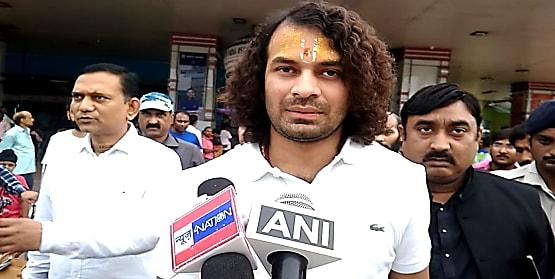 तेजप्रताप यादव लौटे पटना,कहा- दिल्ली में आज हीं तेजस्वी से हुई है मुलाकात