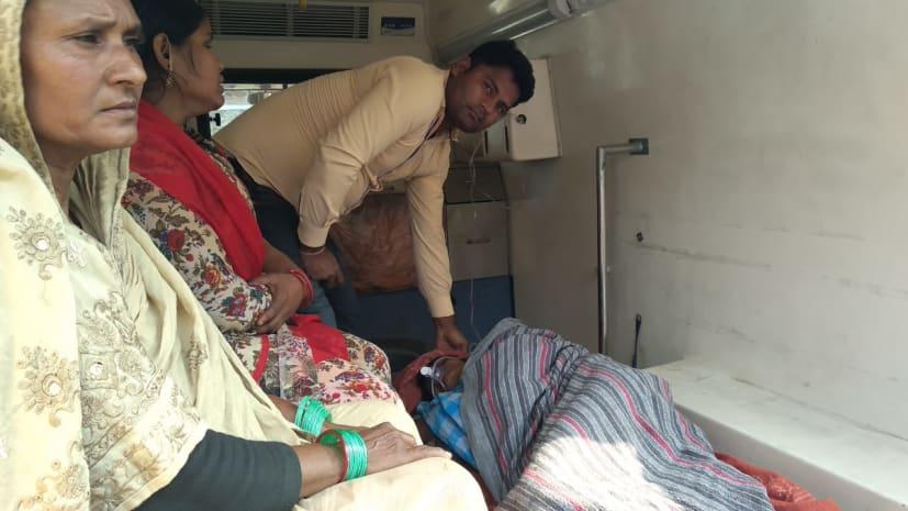 बेटे की हत्या के आरोप में गिरफ्तार मां ने पुलिस कस्टडी में लगाई आग