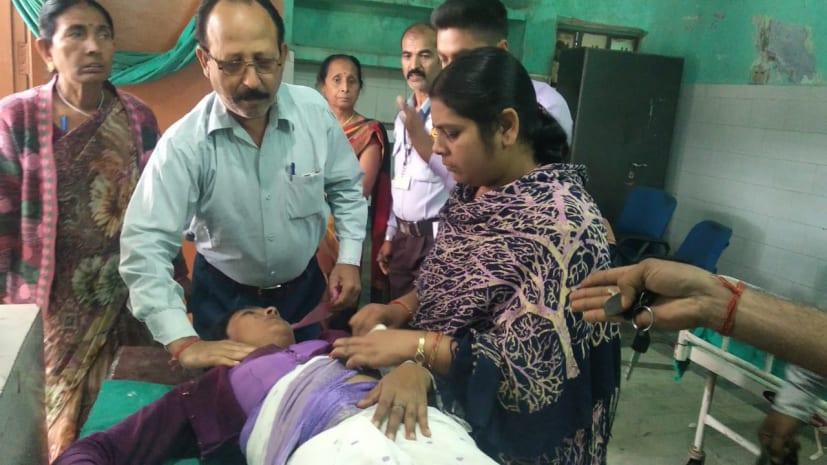 मोतिहारी में स्कूल जा रही प्रिंसिपल को सरेआम मारी गोली, हालत गंभीर