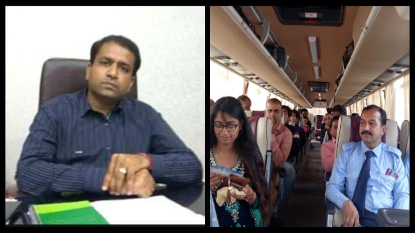 होली में दिल्ली से पटना आने के लिए चलाई जा रही वॉल्वो बस, यात्रियों में ख़ुशी की लहर