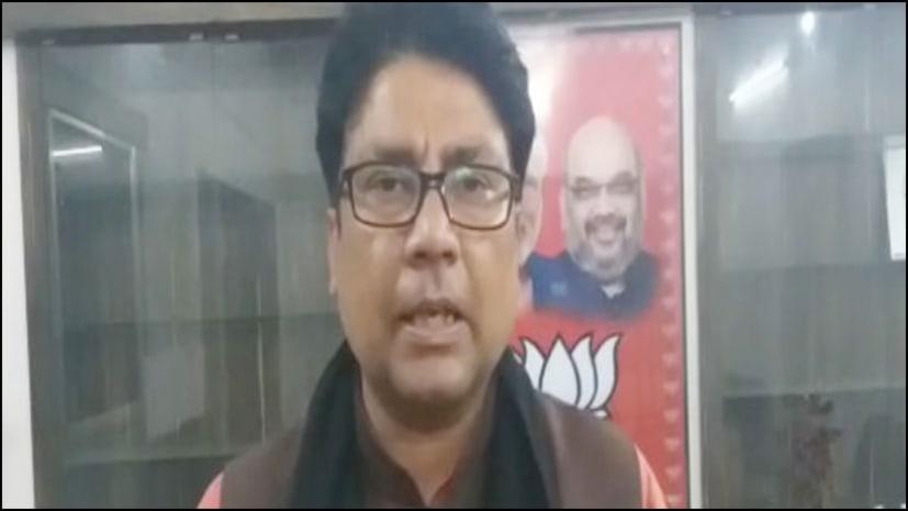 महागठबंधन में जारी सिर फुटव्वल पर बीजेपी का तंज, कहा- राजद और कांग्रेस में चल रही नूरा कुश्ती