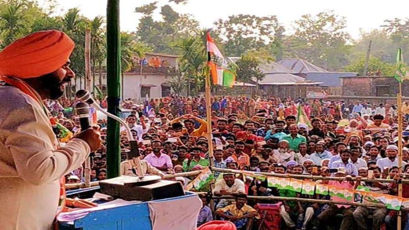 अब सिद्धू की मुश्किलें बढ़ी, कटिहार में दिए बयान की चुनाव आयोग ने तलब की रिपोर्ट