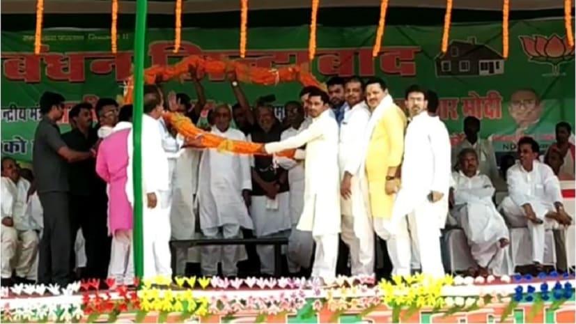 किस काम के आधार पर वोट मांग रहे विपक्षी, जहानाबाद में बोले मुख्यमंत्री नीतीश कुमार