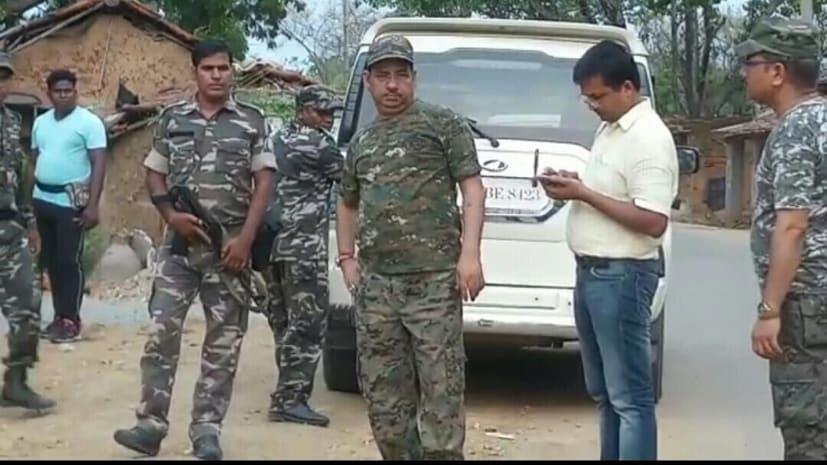 नक्सली हमले के बाद कुकड़ू पहुंचे एसपी, कहा शीघ्र शुरू होगा थाना का निर्माणाधीन भवन
