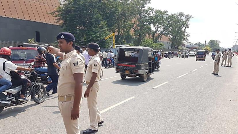 जब राजद विधायक की पत्नी का ट्रैफिक पुलिस ने काट दिया चालान!
