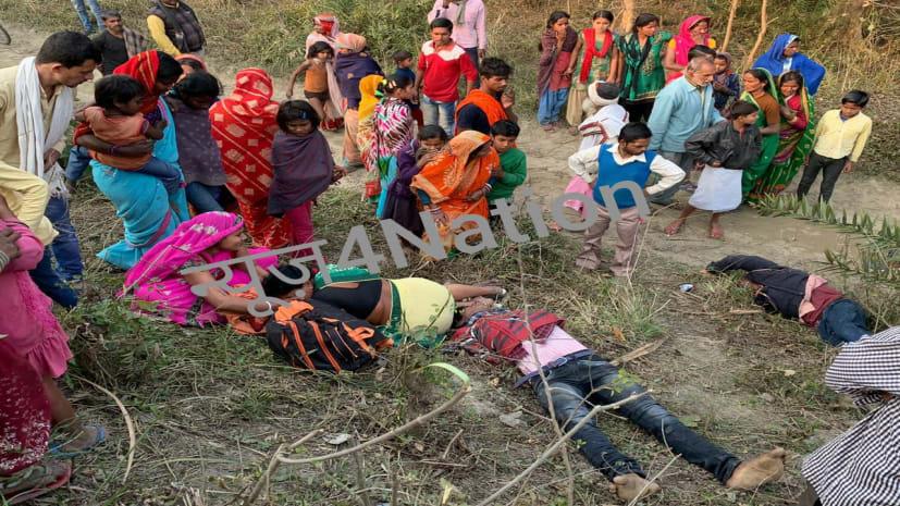 समस्तीपुर में ट्रेन और बैलगाड़ी में  जबरदस्त टक्कर, हादसे में 4 लोगों की मौत, एक की हालात गंभीर