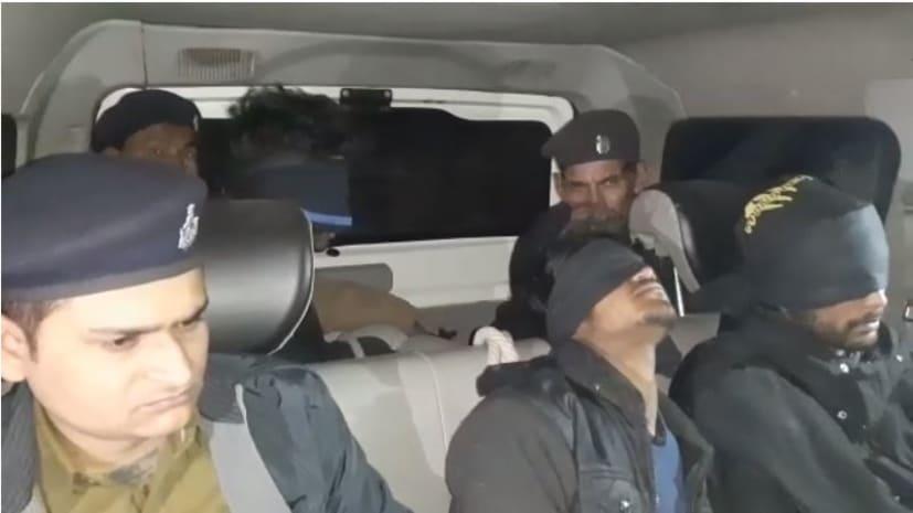 मुजफ्फरपुर के डबल मर्डर मामले का पुलिस ने किया उद्भेदन, तीन को किया गिरफ्तार