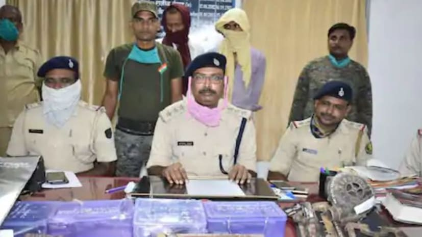 खगड़िया में बंदूक की फैक्टरी चला रहे थे मियां- बीवी, पुलिस ने पिस्टल और गोली के साथ किया गिरफ्तार
