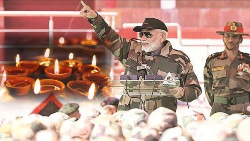जवानों संग दिवाली मनाने लोंगेवाला बॉर्डर पहुंचे PM मोदी,1971 में सेना ने PAK ने दी थी मात