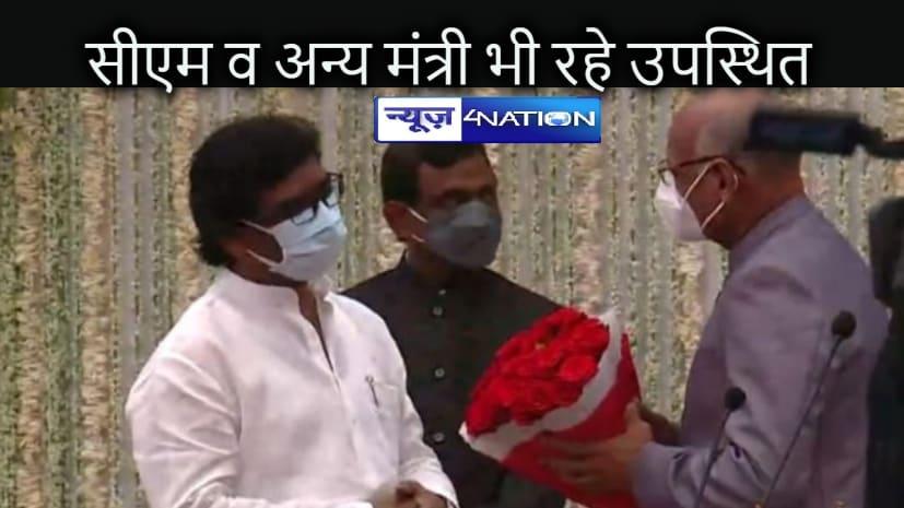 JHARKHAND NEWS: रमेश बैस ने झारखंड के दसवें राज्यपाल के रूप में शपथ ली, सीएम व मंत्री रहे उपस्थित