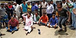 कटिहार में कई इलाके जलमग्न, आक्रोशित लोगों ने किया जमकर किया प्रदर्शन