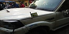 बीजेपी का झंड़ा लगे स्कॉपियो से शराब की हो रही थी सप्लाई...गाड़ी से दो धंधेबाज गिरफ्तार