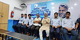 वाटर मैन राजेंद्र सिंह ने शिखर कॅरियर इंस्टीट्यूट के बच्चों को पढ़ाया जल प्रबंधन का पाठ,  भूजल संवर्धन पर दिया जोर