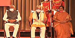 नीतीश कुमार के बाद तारकिशोर-रेणु देवी का हुआ शपथ ग्रहण, विजय चौधरी चौथे नंबर .....