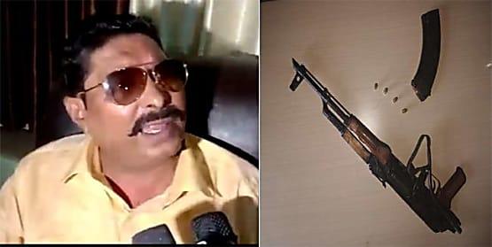 अनंत सिंह के आवास से मिले AK-47 के तार जबलपुर से जुड़े! सेना के अधिकारियों को जांच के लिए बुलाया गया