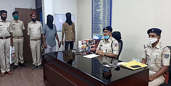 रांची पुलिस को मिली कामयाबी, छिनतई की घटना में शामिल दो अपराधियों को किया गिरफ्तार