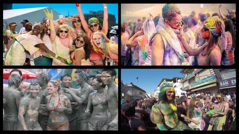 सात समुंदर पार भी मनाया जाता है रंगों का त्योहार होली, लोग जमकर करते हैं मस्ती