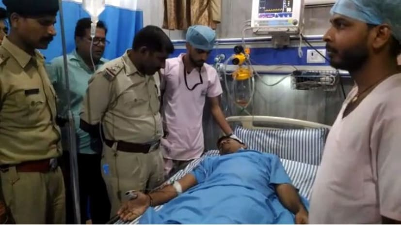 मोतिहारी में बेखौफ अपराधियो का तांडव, किसान को मारी गोली, हालत गंभीर