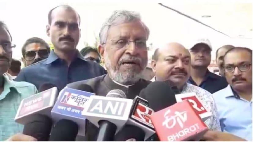 केंद्र में अस्थिर सरकार बनाना चाहती है कांग्रेस पार्टी, बोले उपमुख्यमंत्री सुशील कुमार मोदी
